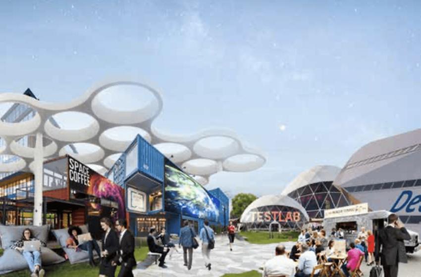 BVR Spatial development vision Space Campus Noordwijk