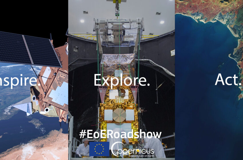 Join the Copernicus Eyes on Earth Roadshow