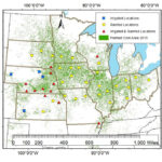 Corn Yield Forecast Center Model Map-t=1435183198000