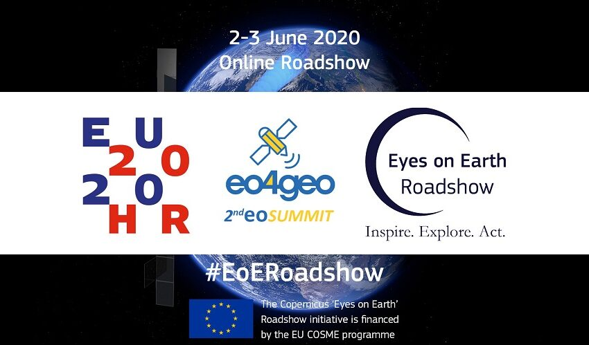 Online Copernicus Eyes on Earth Roadshow a great success!
