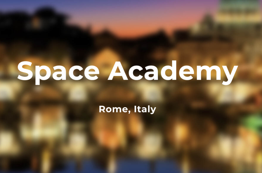 SpaceUp Academy Rome