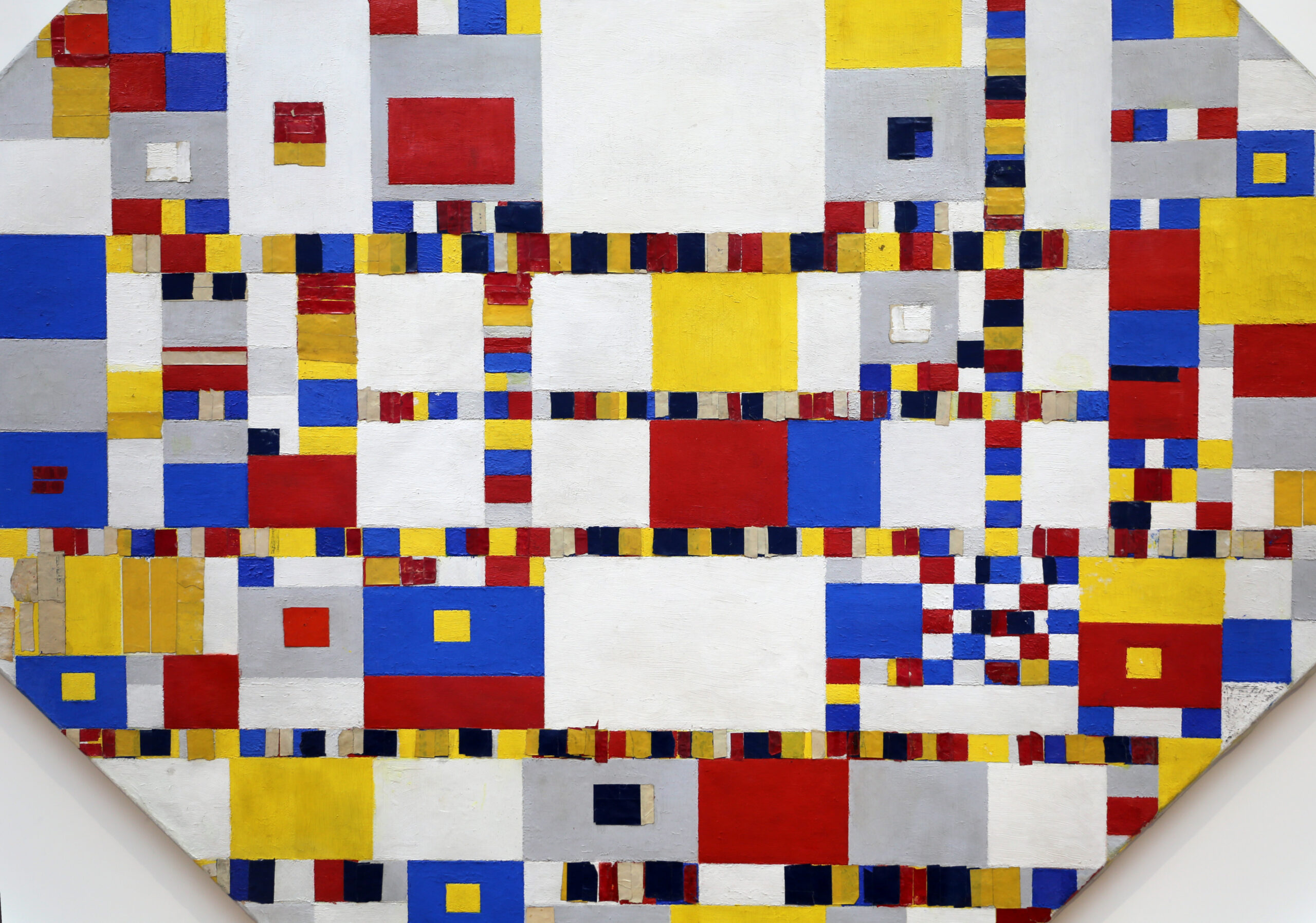 Dutch cities transform into Mondriaan paintings
